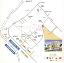 sadguru heritage in badlapur west mumbai location map