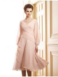 casual mother of the bride dresses tea length kzdress