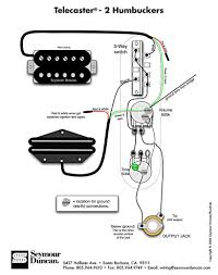 tele wiring diagram with 2 humbuckers telecaster build