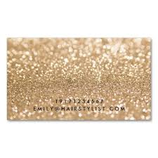 gold glitter and pink stylish business cards ladyprints