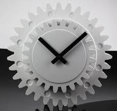 fei u0026s fashion creative double gears clock creative clock gears