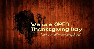 open thanksgiving day xtreme park