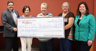 victoria college foundation awards faculty staff grants