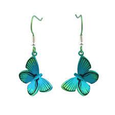 large butterfly titanium earrings ti2 titanium