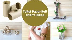 5 toilet paper roll crafts diy toilet paper tube craft ideas