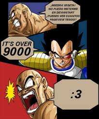 Its Over 9000 Meme - it s over 9000 by linkmasterxp on deviantart