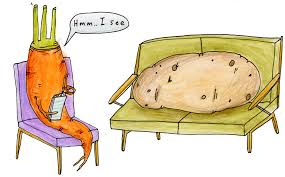 Couch Cartoon Couch Potato Southern By Design