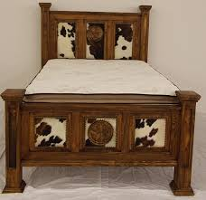 Rustic Bedroom Furniture Houston Crosby Alvin Montgomery Baytown - Cowhide bedroom furniture