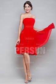robe en dessous des genoux robe cocktail rouge bustier courte aux genoux jmrouge fr