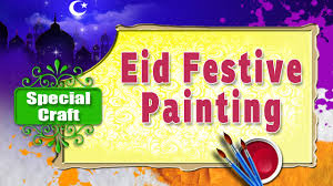 eid special painting for kids