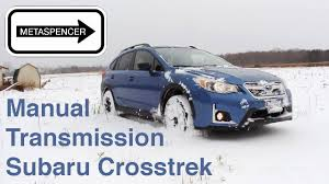 venetian red subaru crosstrek subaru crosstrek manual transmission stick shift review 2016 youtube