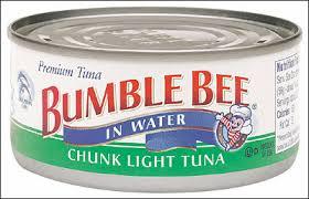bumble bee chunk light tuna canned goods bumble bee chunk light tuna in water 25x106g
