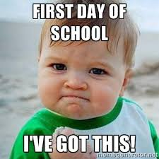 First Day Of Class Meme - first day of school meme images first day of school teacher