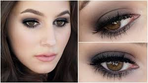 the little black dress of makeup smokey eye tutorial youtube