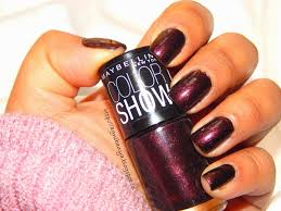maybelline new york color show 005 wine u0026 dine love thy red