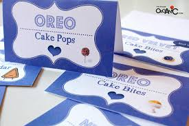 free printable table tents diy make your own food tents for your dessert table incl free