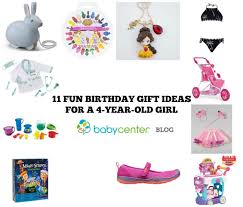 11 birthday gift ideas for a 4 year