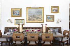 how 20 famous interior designers decorate a dining room vanessa malibu residence dining room by barbara barry in mid century modern style