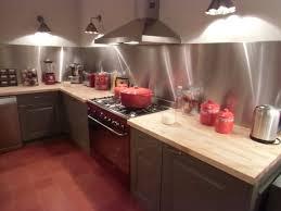 plaque d inox pour cuisine credence pour plaque de cuisson maison design bahbe com