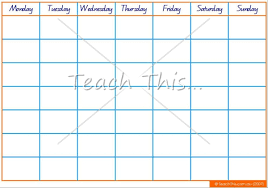 9 best images of classroom calendar template fill in monthly