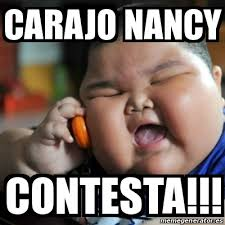 Nancy Meme - meme fat chinese kid carajo nancy contesta 13084125