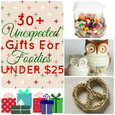 Gifts Under 25 30 Unexpected Gifts For Foodies Under 25 The Domestic Rebel