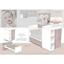 chambre transformable alibaby lit chambre transformable 60x120cm en lit 90x190cm heliot