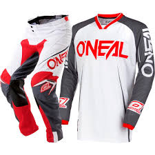 cheap youth motocross gear oneal new mx 2018 mayhem blocker white grey le kids youth