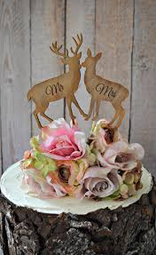 wedding cake toppers and groom deer groom wedding cake