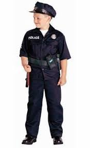 Policeman Halloween Costume Jr Police Officer Costume Cap Police Costumes Children