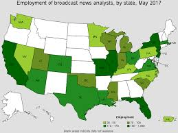 entry level jobs journalism nyc maps broadcast news analysts