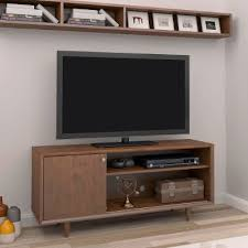 54 inch mid century modern mahogany tv stand rc willey furniture