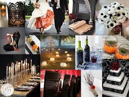 Halloween Wedding Reception Decorations hauntingly hip halloween wedding merrily wed lake tahoe wedding