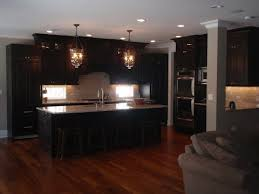 what color flooring looks with cabinets what color hardwood floor with espresso cabinets