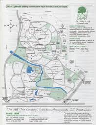 Syracuse Map The Schwertfeger Schwert Families Cemetery Maps Of The