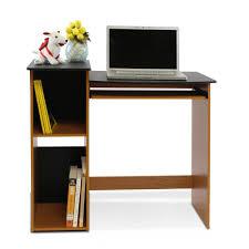 Furinno Econ Light Cherry Computer Writing Desk 99914r1lc Bk The
