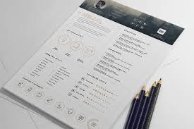 Stylish Resume Templates Free Free Stylish Resume Template And Resume Icons Ai File Good Resume