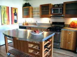 stainless top kitchen island amazing kitchen island stainless steel top breakfast bar kitchen