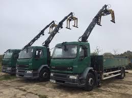 daf lf55 18 ton hiab trucks 2004 hiab dropsides choice of 5 ideal