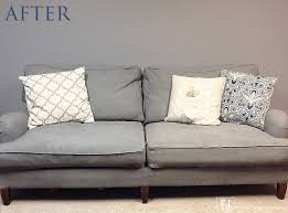 How To Clean Velvet Sofa How To Paint A Couch And Diy Chalk Paint