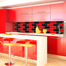 kitchen interior amusing kitchen backsplash red kitchen backsplash tiles red tiles for kitchen home design