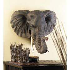 image detail for african safari wild elephant wall decor statue