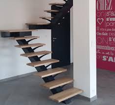 escalier bois design fabrication escalier design fer et bois à ensues la redonne art