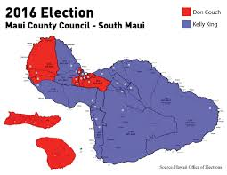 Election 2016 Map by 2016 Election Archives Maui Time