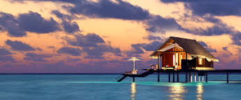 maldives with its limitless tropical scenery and sunbathed
