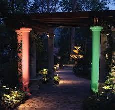 paradise 12v landscape lighting color landscape lighting colored lens covers can change the mood at