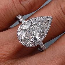pear shaped ring best pear shaped diamond ring products on wanelo