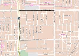 San Jose Neighborhood Map by Neighborhood Associations Campbell Ca Official Website