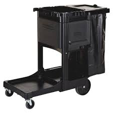 Rubbermaid The Home Depot Rubbermaid Commercial Products High Capacity Cleaning Cart