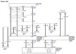mustang shaker sound system need a diagram of a shaker 500 audio system color codes for